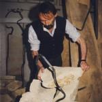1996 portrét AH v ateliéru 1