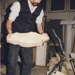 1996 portrét AH v ateliéru